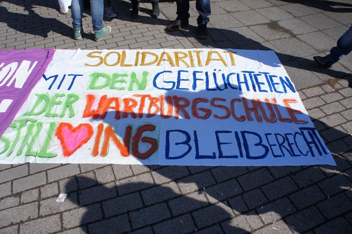 SolidaritätMitWartburgschuleTranspi