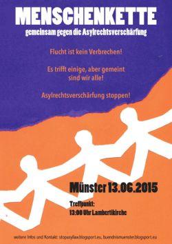 PosterMenschenketteklkl